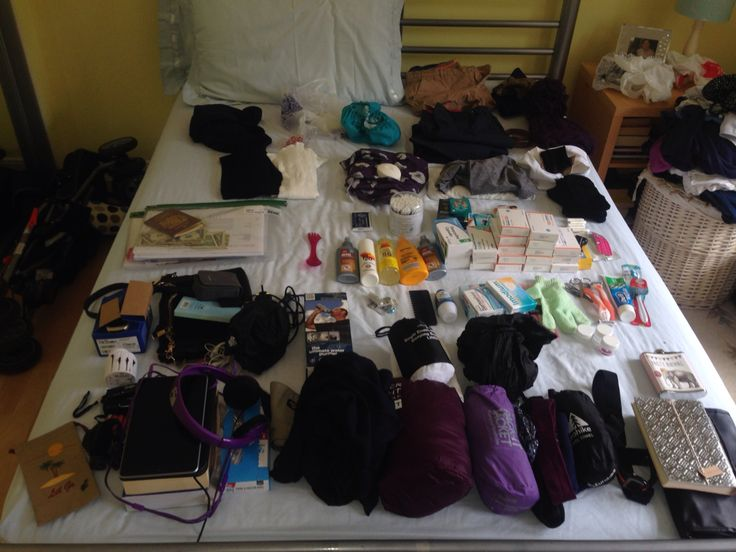 Packing for five months in South America