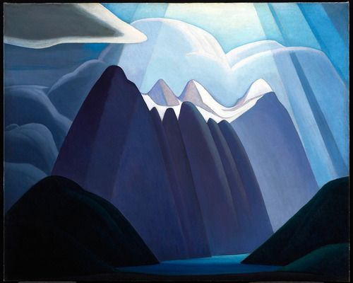 2headedsnake: Lawren Harris untitled, 1927-28