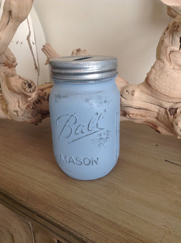 A personal favorite from my Etsy shop https://www.etsy.com/listing/224803120/mason-jar-coin-bank-coin-jar-piggy-bank