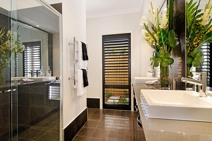 Monaco Ensuite by McDonald Jones. #bathroom #design #luxuryhome #mcdonaldjones