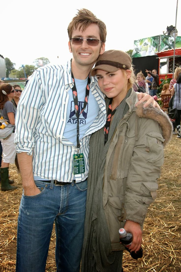 PHOTOS: David Tennant  Billie Piper Attend The V Festival In 2006 #ThrowbackThursday  15th May 2014