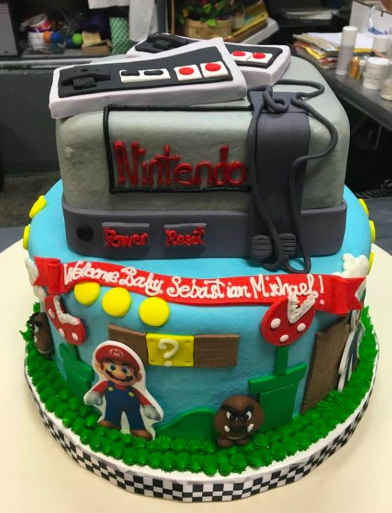 25 Best Video Game Cakes Images On Pinterest Video Game Video