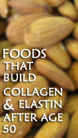 While foods that build collagen and elastin are beneficial at any time of life, it becomes particularly important to get enough of these foods after age 50. At that point, your body begins producing less collagen and elastin, which can result in loss of elasticity and firmness in your skin and facial features.