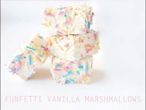 Funfetti Vanilla Marshmallows Recipe