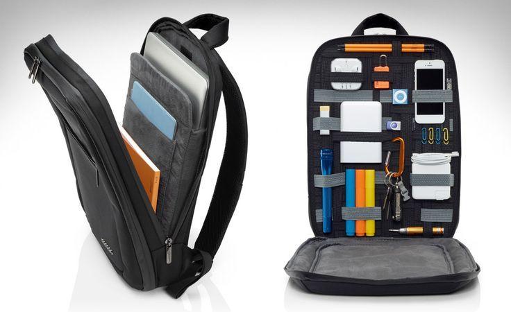 """Cocoon Slim Backpack para notebooks de 15"""". Ideal para o dia a dia do profissional. Uma excelente ideia que pode ser aperfeiçoada."""