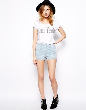Immagine 1 di New Look - Pantaloncini da discoteca a pois