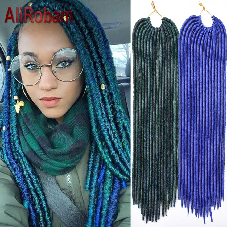 $54.97 Cheap synthetic braiding hair, Buy Quality havana twist hair directly from China braiding hair Suppliers: Cheap Dreadlock Extensions Synthetic Braiding Hair Faux Locs 18inch 16roots Dreadlocks Braids Crochet Braids Havana Twist Hair