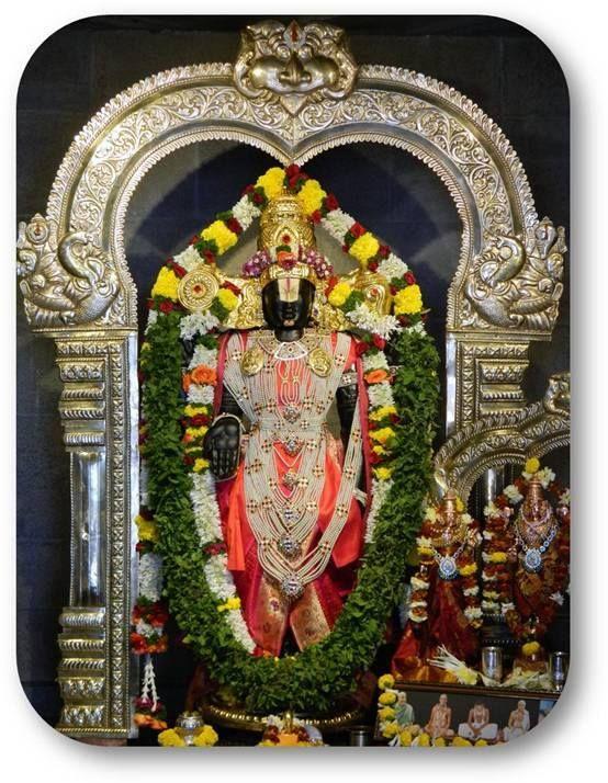 Today's Darshan Sri Balaji @ISKCONNVCC, Pune