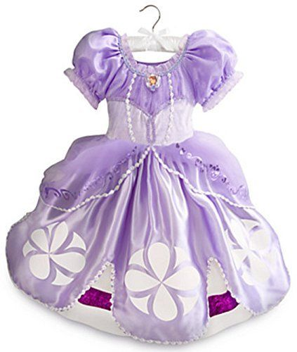 Disney Store Sofia the First Costume for Kids Size 3 @ niftywarehouse.com #NiftyWarehouse #Disney #DisneyMovies #Animated #Film #DisneyFilms #DisneyCartoons #Kids #Cartoons