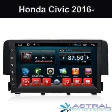 #Honda #civic #HondaCivic #autoradio #indash #cars #radio #android #2dindvd #incargps Honda Civic 2016 2017 multimedia in-dash receivers Professional OEM manufacturers looking for agent and distributor