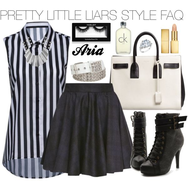 """Pretty Little Liars Aria Montgomery #16"" by engelsvictoria on Polyvore"