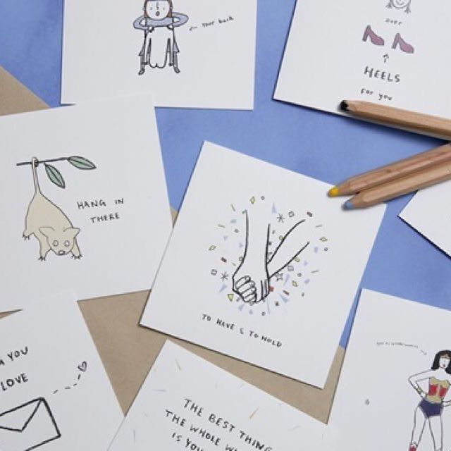 We're obsessed with @eloiselark cards so it was a joy to speak to founder Eloise about her sweet and often hilarious creations. Read the story at GiftguideOnline.com.au and see her (for the first time!) at @life_instyle Sydney 😍