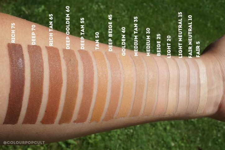 """COLOURPOP COSMETICS """"No Filter Concealer"""" reviews and swatches and Brushes overview."""