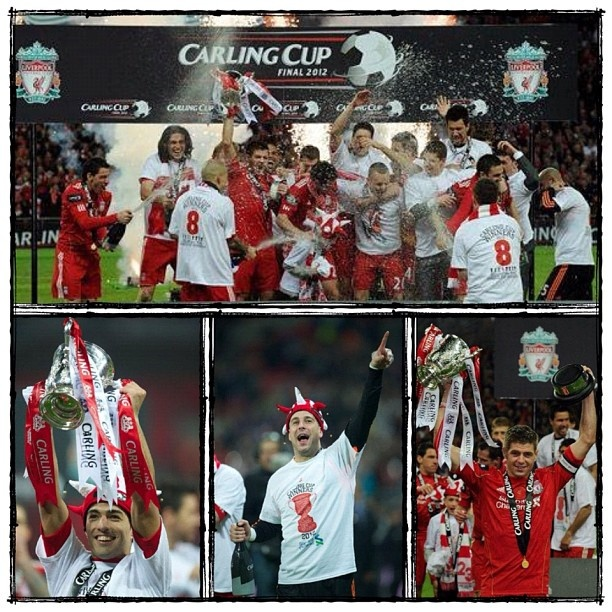 We are the Champions... #YNWA