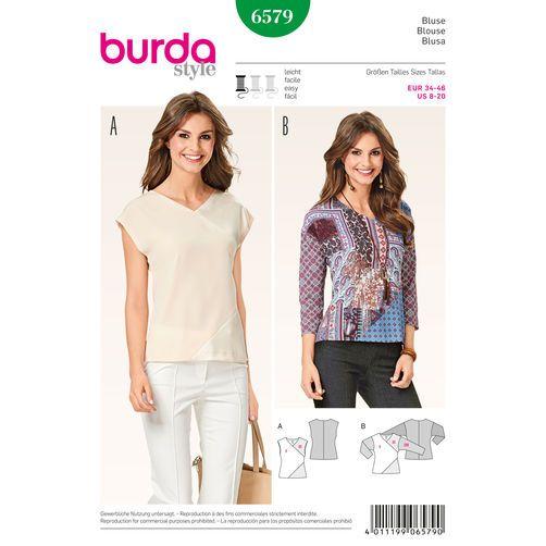 Burda Style Pattern 6579 Blouse