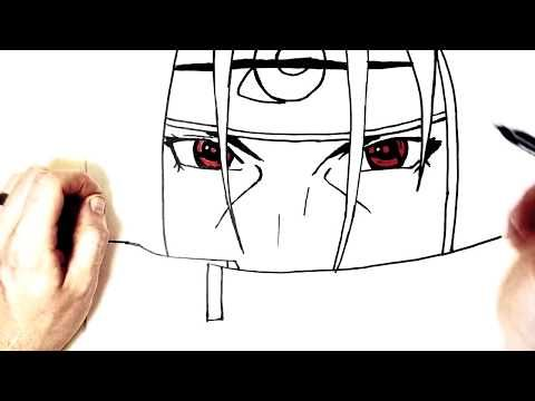 How To Draw Itachi Step By Step Naruto Youtube Easy Drawings For Beginners Easy Drawings Step By Step Drawing