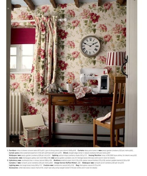 Laura Ashley Kitchen Wallpaper: 1000+ Images About Laura Ashley On Pinterest