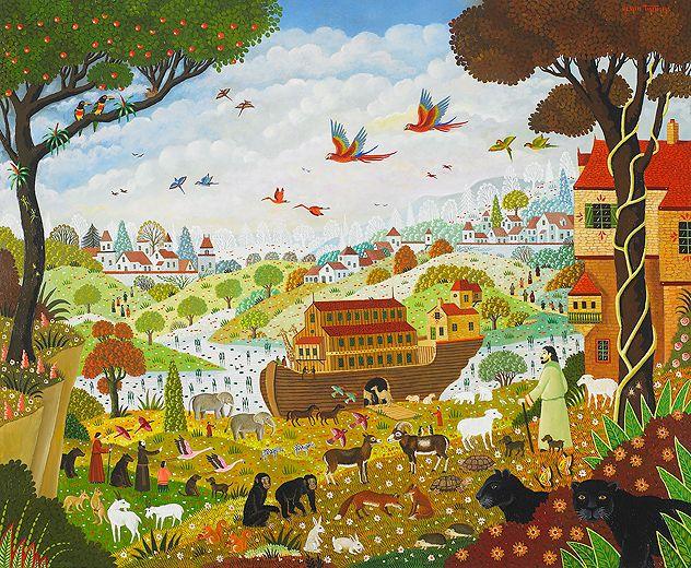 39 arche de no 39 by artist alain thomas artists paint the for Alain thomas