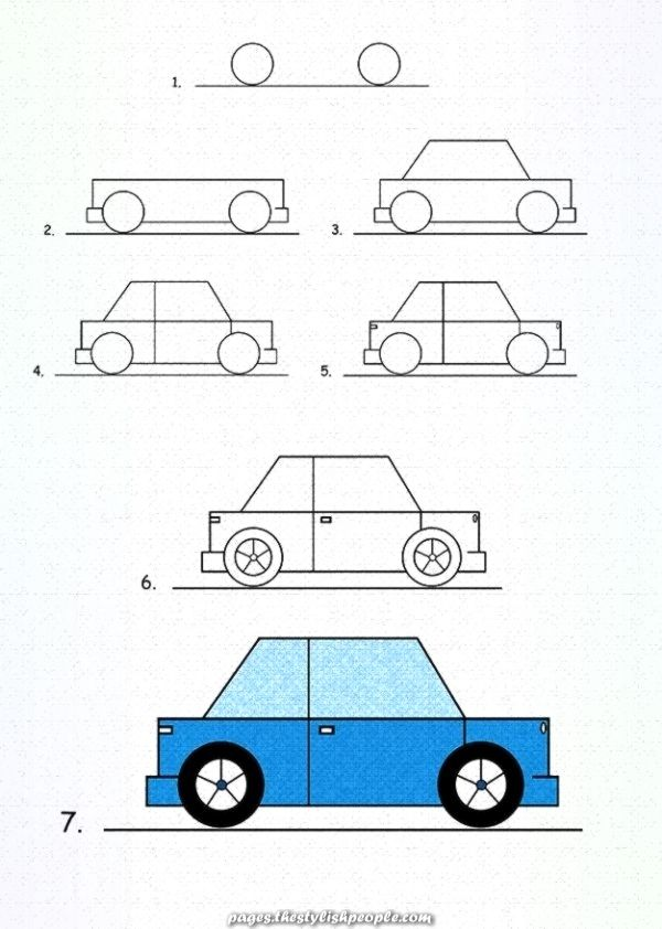 How To Draw Cars With Images Cartoon Car Drawing Car Drawing