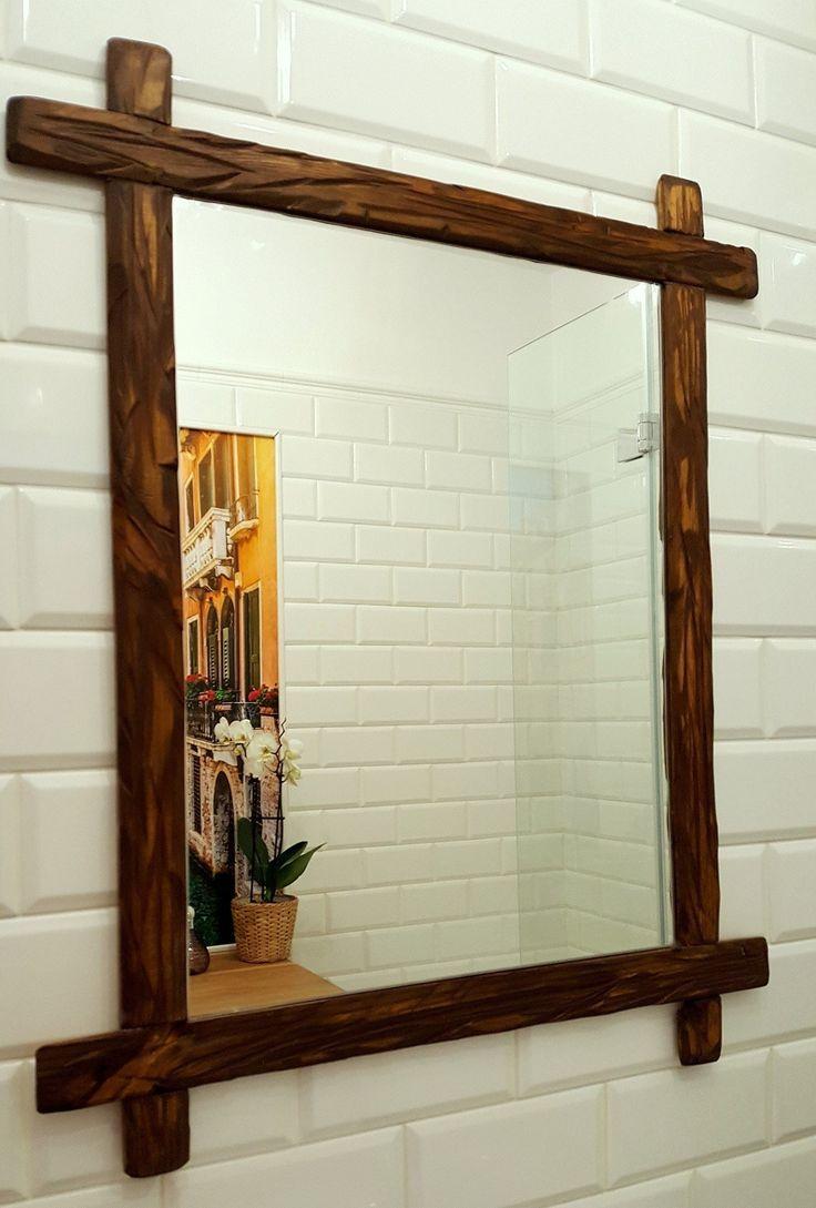 Jak zrobić drewnianą ramę lustra?/  Wooden mirror frame DIY