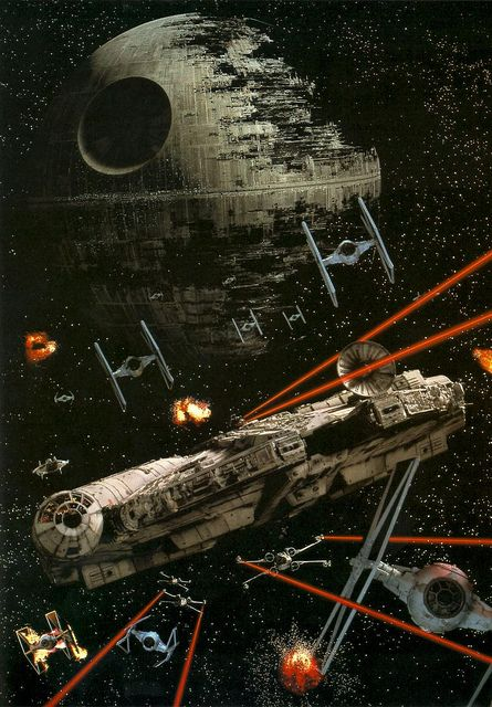 Star Wars. I have this poster!