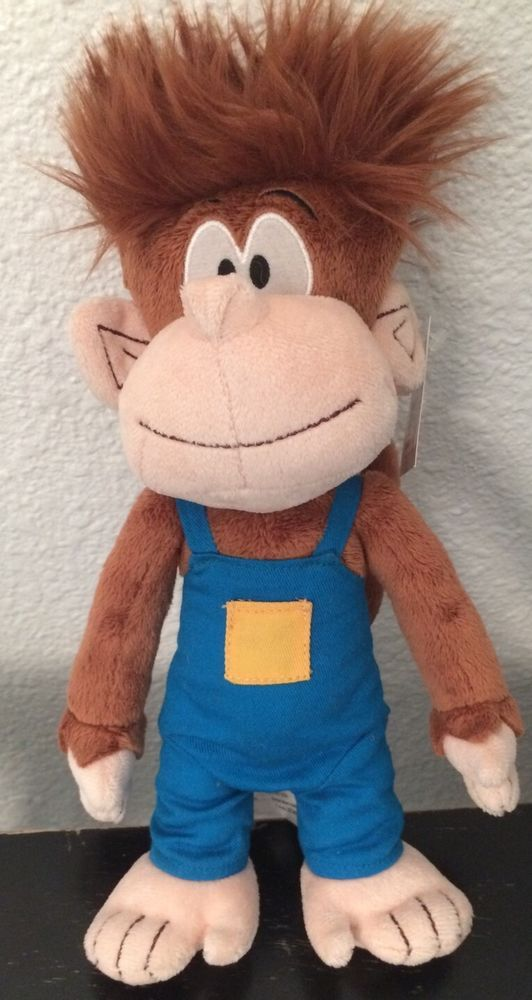 Monkey Plush Marty Adventures In Boogabooga Land Tommy