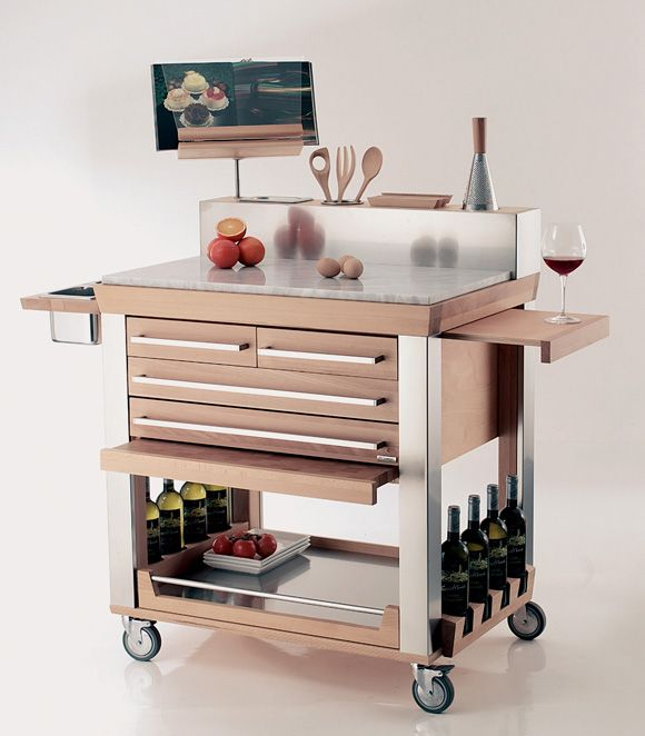 Kitchen Trolley Accessories: 37 Best Kitchen Trolleys Images On Pinterest