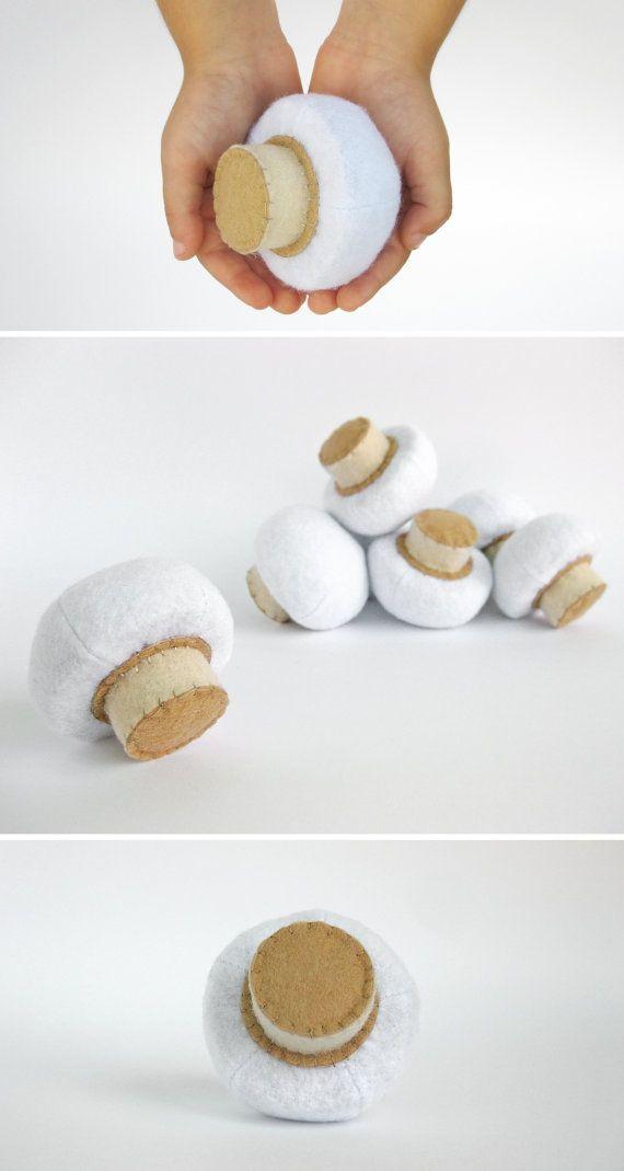 Felt play food Mushroom (1 pc) by MyFruit I suggest you to buy realistic stuffed…