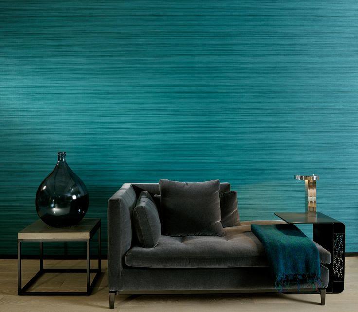 Afbeeldingsresultaat voor turquoise behang