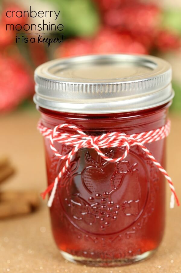 Cranberry Moonshine – This cranberry moonshine recipe is my favorite cocktail