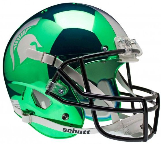 Michigan State #Spartans XP Replica #Football #Helmet #Chrome #MSU