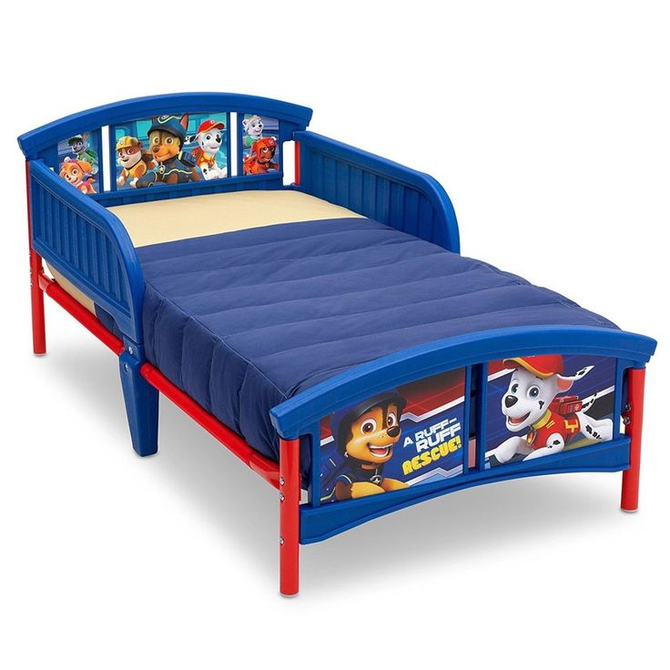 Delta Children Plastic Toddler Bed, Nick Jr. PAW Patrol NEW #DeltaChildren