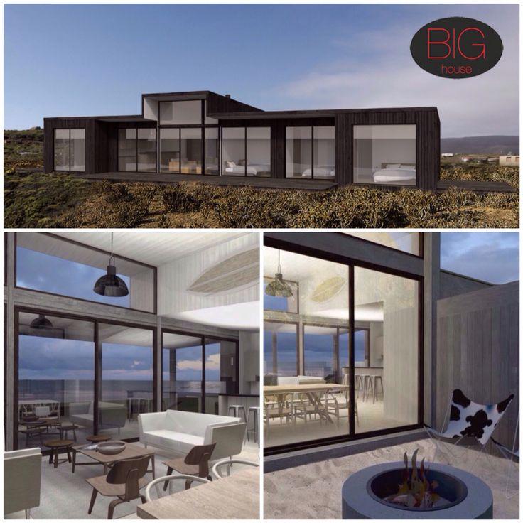 CASA LA NIÑA  •122 mts.2 construidos •49,4 mts.2 de terraza •Living en doble altura •Patio de fuego
