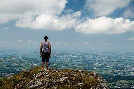 Personne, Retour Au Début, Montagne, Vue