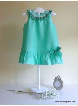 Vestido Aguamarina