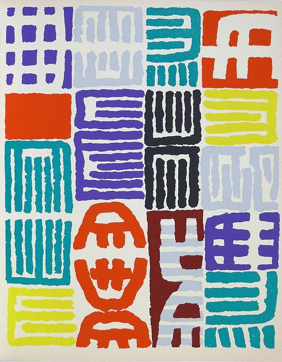 Giuseppe Capogrossi   1958   Pasquale Iannetti Art Gallery