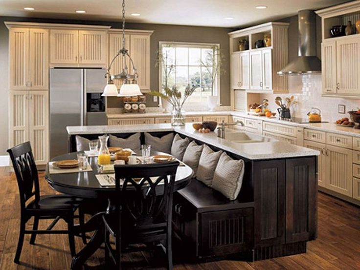 25+ best Small kitchen islands ideas on Pinterest | Small kitchen with  island, Kitchen layouts and Small kitchens