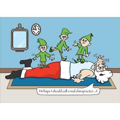Elf Chiropractic Adjustment Chiro Holiday Fun