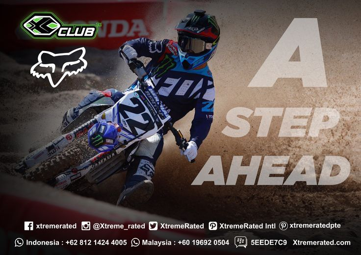 A STEP AHEAD FOX RACING  #xtremerated #xclub #foxracing #motocross