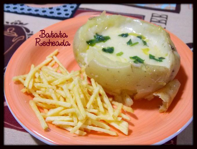 Batata Recheada - confira o passo a passo no blog do Arte Caseira   http://www.artecaseirarestaurante.com.br/blog/0-90/Aventuras+na+Cozinha+24+-+Batata+Recheada