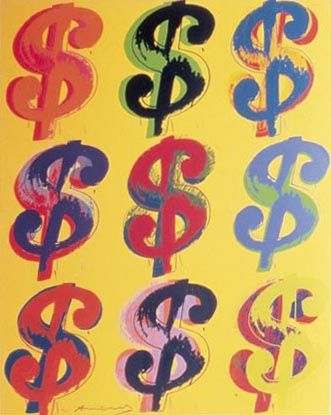 Warhol Dollar Sign
