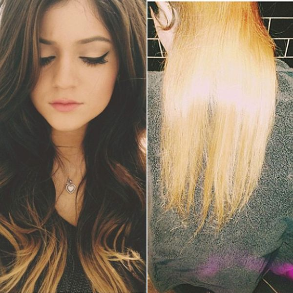 Kylie Jenner's new hair—yay or nay?