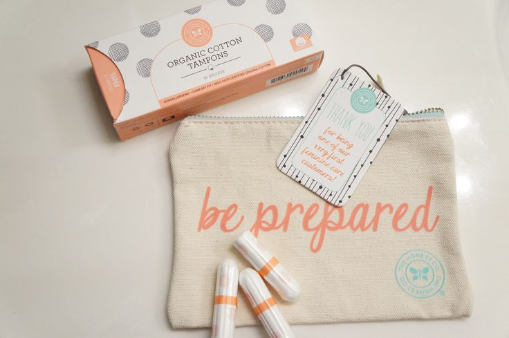 The Honest Company: Organic Tampons — The Gorgeous Girl's Guide