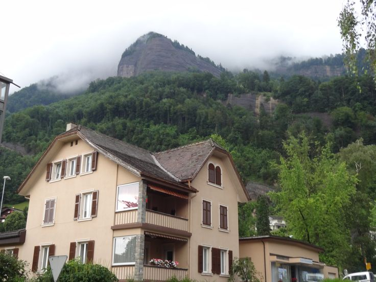 Vitznau - Hotel Rigi - View of the Rigi