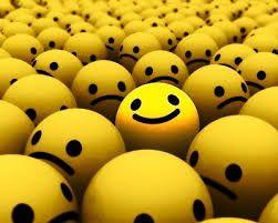 siempre ver el lado positivo de las cosas, y estar alegre a pesar de todo
