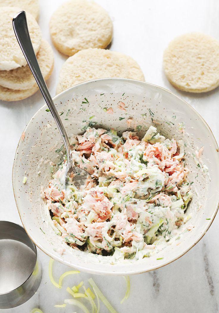 pasta łososiowa przepis lax salad