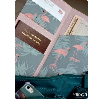 Voici comment réaliser un protège-passeport.