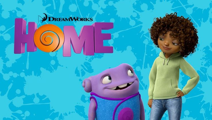 Book to Movie Days for Kids Featuring 'Home'