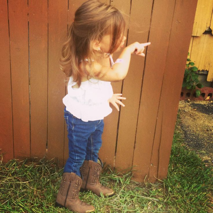 Cute little country girl