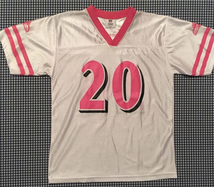 Ed Reed Baltimore Ravens Girls Replica Football Jersey Size Youth XL Pink NFL #BaltimoreRavens